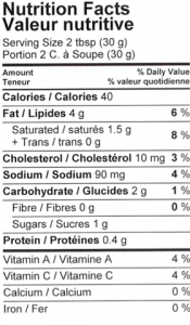 Tikka Masala Sauce Nutrition Facts