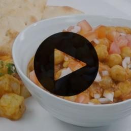 Punjabi Channa Masala Recipe - vegetarian recipe