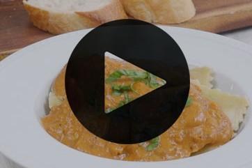 Tikka Masala Ravioli Recipe - Vegetarian Recipe