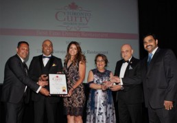 KFI Sauces sponsors the Toronto Curry Awards