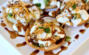 Chaat Papri Recipe - Vegetarian Recipe