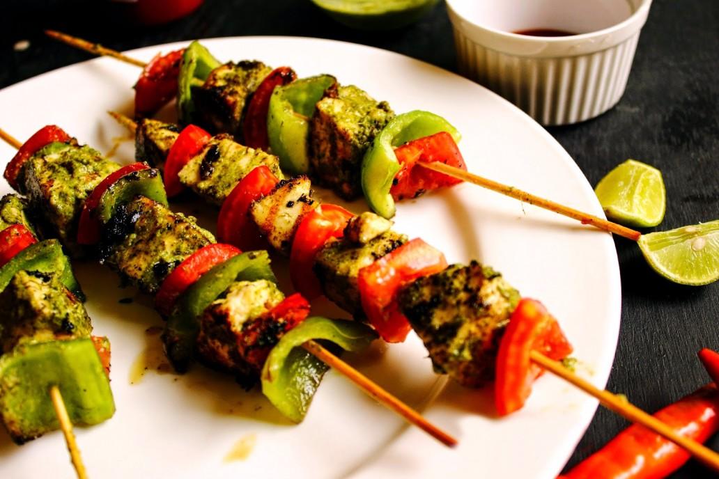 Hariyali Paneer Recipe - vegetarian recipes