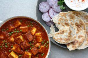 Matar Paneer Recipe - Vegetarian recipes