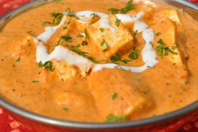 Paneer Makhani Recipe - Vegetarian Recipes