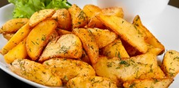Potato Wedges Recipe - Vegetarian Recipe
