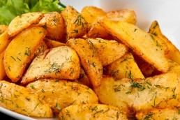 Potato Wedges Recipe - Vegetarian Recipe